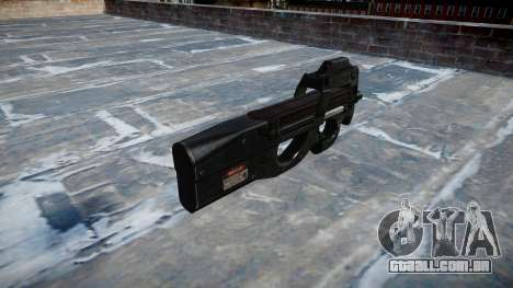 Arma Fabrique Nationale P90 para GTA 4 segundo screenshot