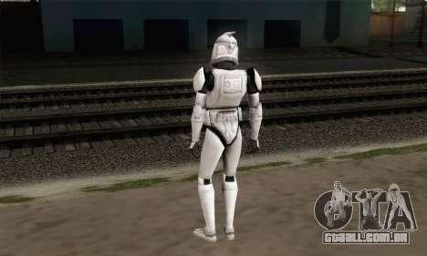 Star Wars Clone para GTA San Andreas segunda tela