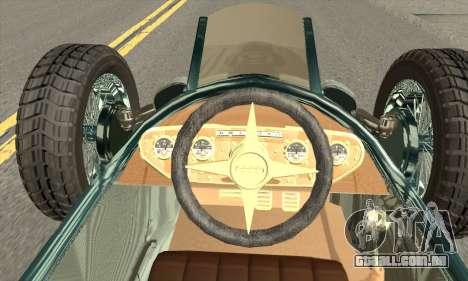 Audi Type C 1936 Race Car para GTA San Andreas traseira esquerda vista