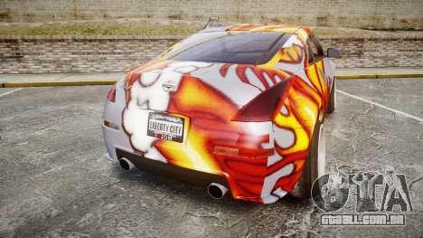 Nissan 350Z EmreAKIN Edition para GTA 4 traseira esquerda vista