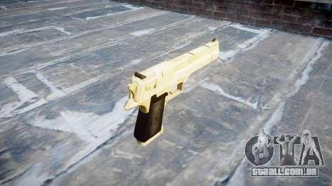 Пистолет Desert Eagle PointBlank Ouro para GTA 4 segundo screenshot