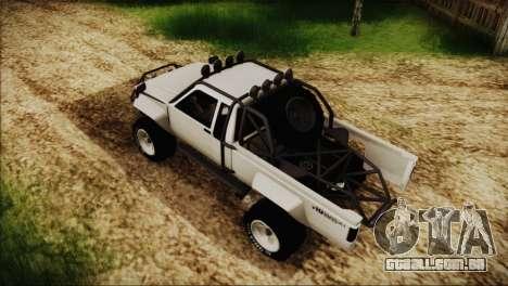 Karin Rebel 4x4 para GTA San Andreas traseira esquerda vista