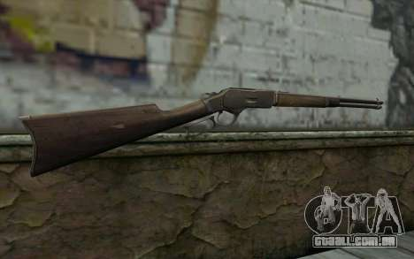 Winchester 1873 v4 para GTA San Andreas segunda tela