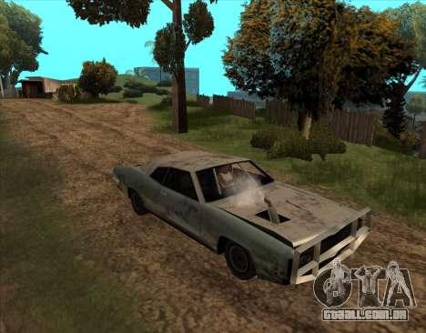 Pós-Apocalíptica Buccaneer para GTA San Andreas vista direita