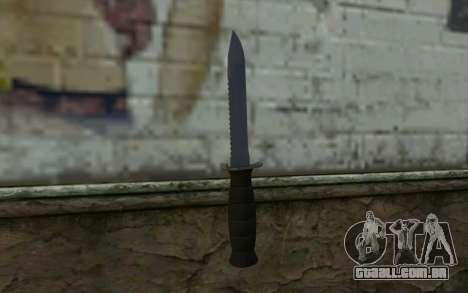 Faca de combate (DayZ Standalone) v2 para GTA San Andreas segunda tela