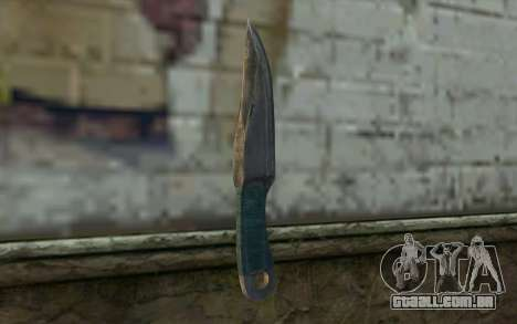 Knife from Metro 2033 para GTA San Andreas segunda tela