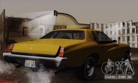 Chevrolet Monte Carlo 1973 para GTA San Andreas esquerda vista