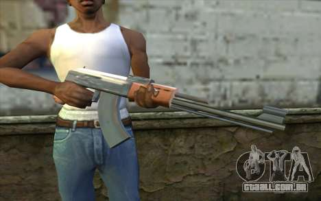 AK47 from Beta Version para GTA San Andreas terceira tela