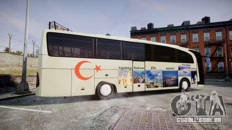 Mercedes-Benz Travego Turkey para GTA 4 esquerda vista
