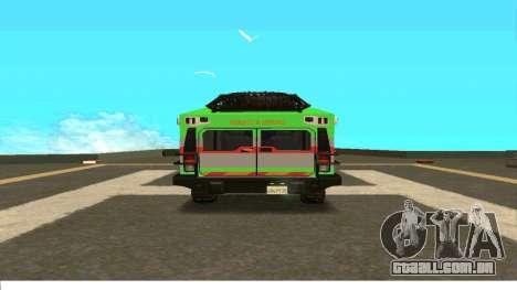 Hummer H2 Ratchet Transformers 4 para GTA San Andreas vista direita