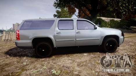 Chevrolet Suburban [ELS] Rims2 para GTA 4 esquerda vista