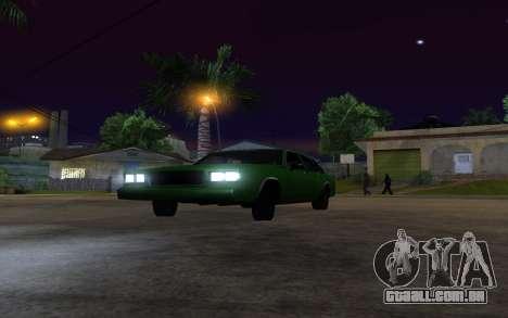 Tahoma Restyle para GTA San Andreas vista direita