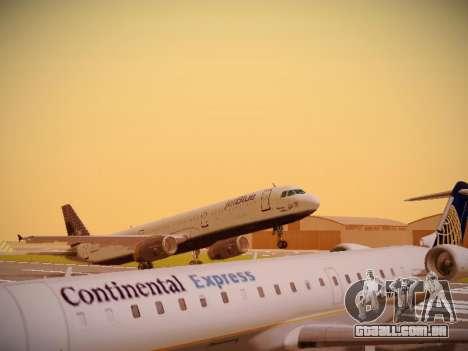 Airbus A321-232 jetBlue Woo-Hoo jetBlue para GTA San Andreas esquerda vista