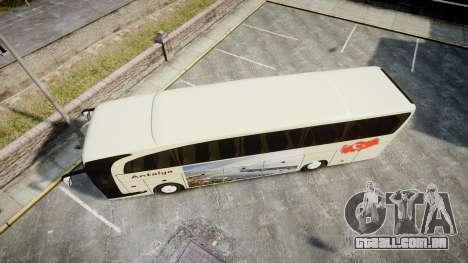 Mercedes-Benz Travego Turkey para GTA 4 vista direita