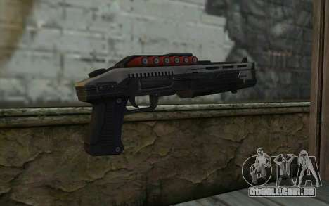 Shotgun from Deadpool para GTA San Andreas segunda tela