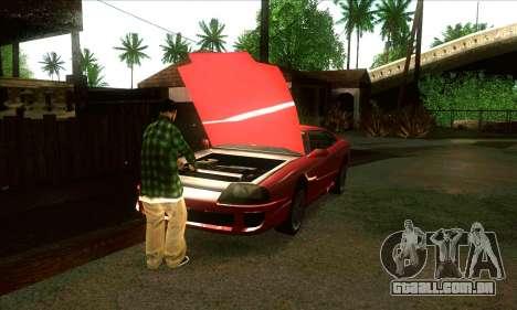 Situação de vida v3.0 para GTA San Andreas por diante tela