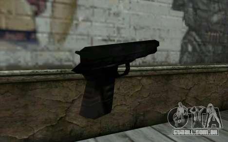 Pistol from Cutscene para GTA San Andreas segunda tela