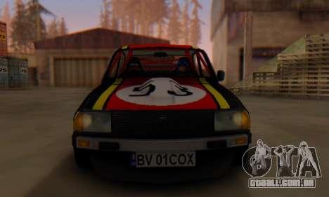 Dacia 1410 Sport para GTA San Andreas traseira esquerda vista