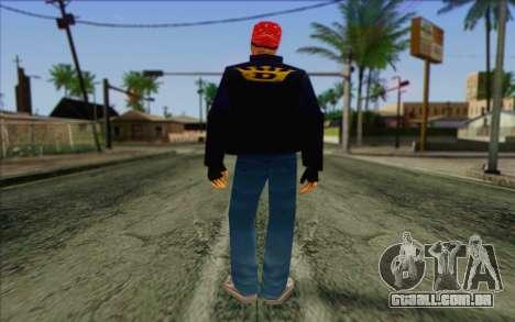 Diablo from GTA Vice City Skin 1 para GTA San Andreas segunda tela