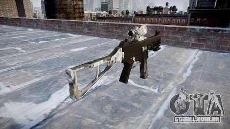 Arma UMP45 Ghotex para GTA 4 segundo screenshot