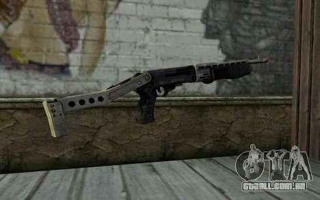 SPAS-12 from Battlefield 3 para GTA San Andreas segunda tela