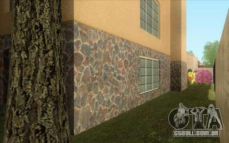 Nova casa, em Las Venturas para GTA San Andreas por diante tela