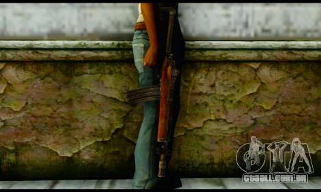 Ruger Mini-14 from Gotham City Impostors v2 para GTA San Andreas terceira tela