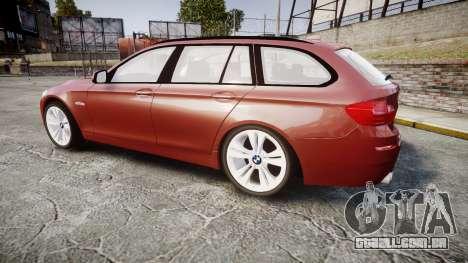 BMW 530d F11 para GTA 4 esquerda vista