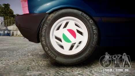 Fiat Uno para GTA 4 vista de volta