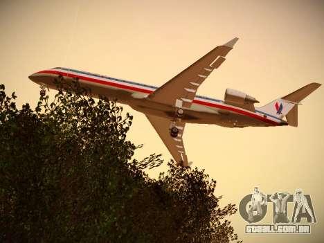 Bombardier CRJ-700 American Eagle para GTA San Andreas
