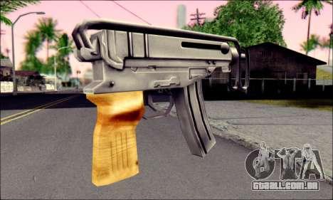 Escorpião vz. 61 para GTA San Andreas segunda tela
