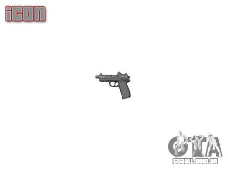 Arma FNP-45 para GTA 4 terceira tela
