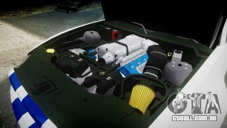Ford Mustang GT 2014 Custom Kit PJ3 para GTA 4 vista lateral