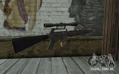 M16S from Battlefield: Vietnam para GTA San Andreas