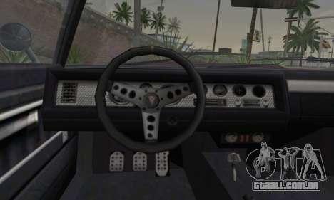 GTA 5 Phoenix para GTA San Andreas traseira esquerda vista