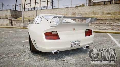 GTA V Pfister Comet para GTA 4 traseira esquerda vista
