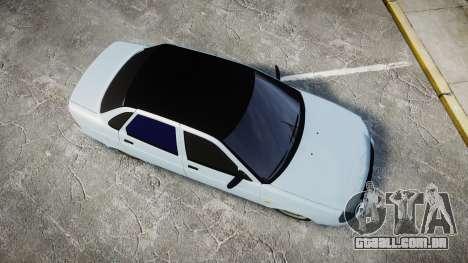 ВАЗ-2170 Instalado Antes do para GTA 4 vista direita