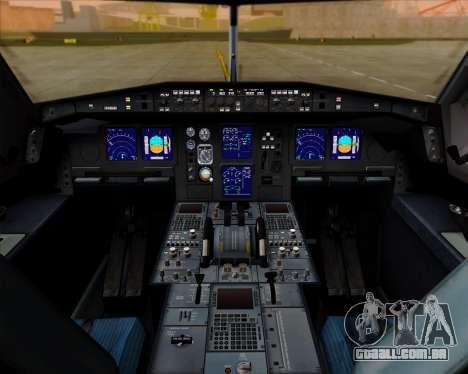 Airbus A340-600 Air India para GTA San Andreas interior