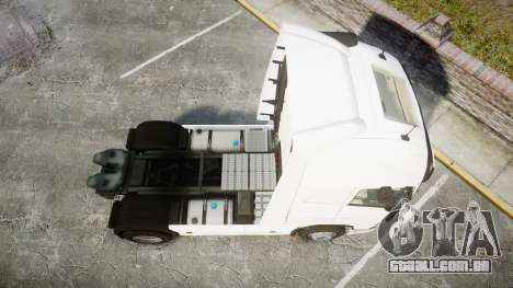 Volvo FH16 para GTA 4 vista direita