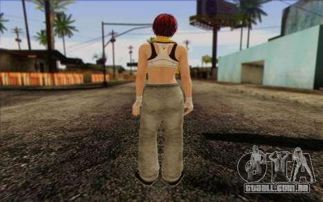 Mila 2Wave from Dead or Alive v18 para GTA San Andreas segunda tela