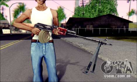 RPK-74 do ArmA 2 para GTA San Andreas terceira tela