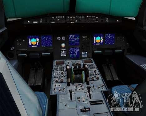 Airbus A321-200 British Midland International para GTA San Andreas interior