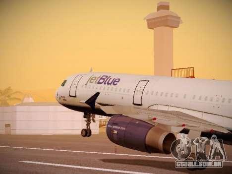 Airbus A321-232 jetBlue Woo-Hoo jetBlue para as rodas de GTA San Andreas