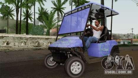 Caddy from GTA 5 para GTA San Andreas