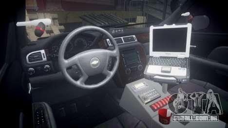 Chevrolet Suburban [ELS] Rims1 para GTA 4 vista de volta