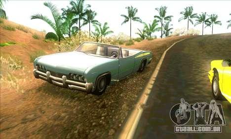 Situação de vida v3.0 para GTA San Andreas sexta tela