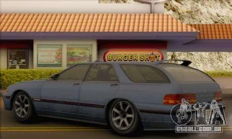 GTA 5 Stratum para GTA San Andreas vista traseira