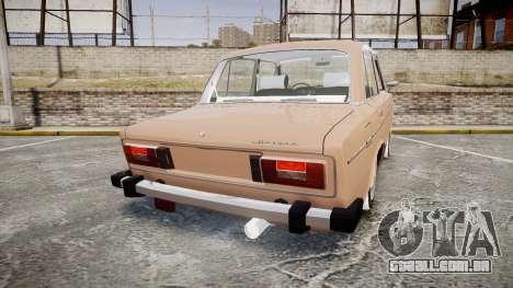 VAZ-2106 hooligan Azerbaijani velho estilo para GTA 4 traseira esquerda vista