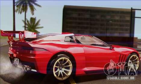 Invetero Coquette (IVF) para GTA San Andreas esquerda vista
