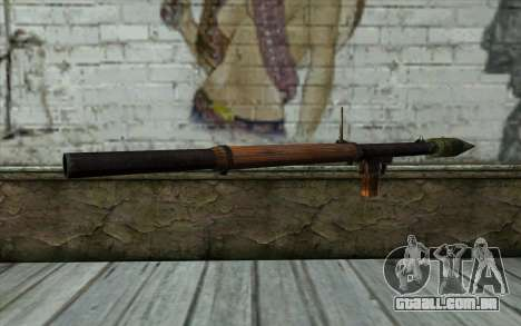 РПГ-2 (Battlefield: Vietnam) para GTA San Andreas segunda tela